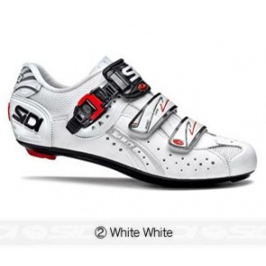 Sidi Genius5 Fit Road Bike Cycling Shoes White White