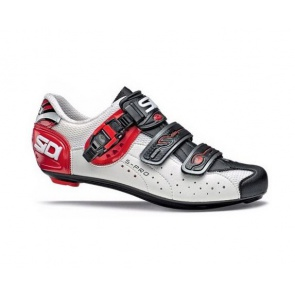 Sidi Genius5 Pro Road Bike Shoes white black red