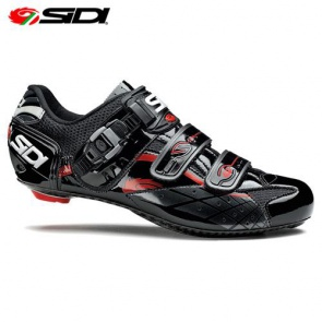 Sidi Lazer Road Bike Cycling Shoes Red vernice