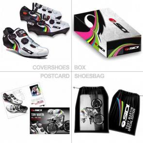 Sidi Wire Carbon Limited Edition Cover Shoes Tony Martin