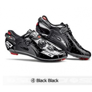 Sidi Wire Carbon Road Bike Shoes Cycling Black Black