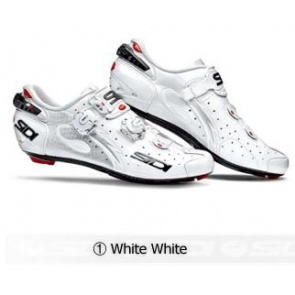 Sidi Wire Carbon Road Bike Shoes Cycling White White
