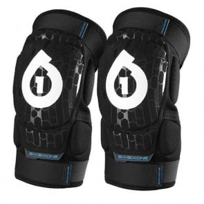 Sixsixone Rage knee guard black cycling bicycle soft shell pads