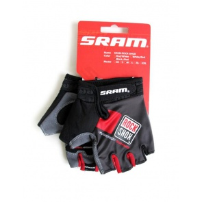 Sram RockShox Cycling Gloves Half Fingers