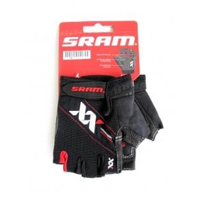 Sram XX Cycling Gloves Half Fingers Black