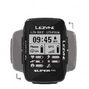Lezyne SUPER PRO GPS Bluetooth speedometer