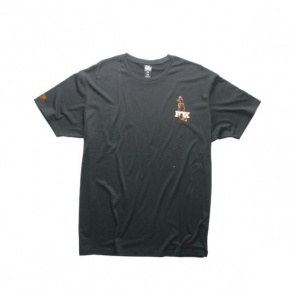 Fox Tailed SS Tee Short Sleeves Black