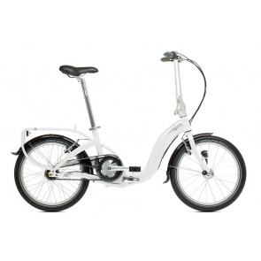 Tern Swoop D7i White Gray Inner Gear 7 Folding Bike