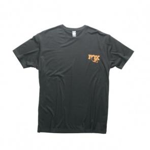 Fox Textured SS Tee Short Sleeves T-Shirt Black
