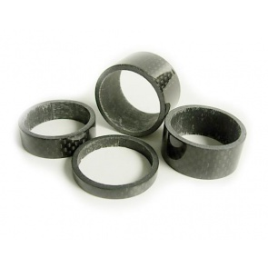 Tiparts carbon Headset spacer 4set 1 1-8