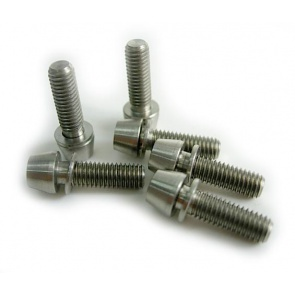Tiparts Titanium M5x16mm Taper Head Stem Bolts