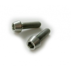 Tiparts Titanium M5x18mm Taper Head bolt