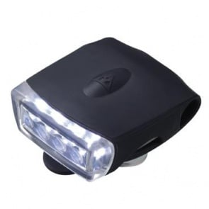 Topeak WhiteLite DX USB Black Head Torch W LED Light