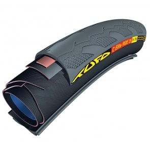 700x23 TUFO C ELITE RIDE 23 TUBULAR-CLINCHER BLACK