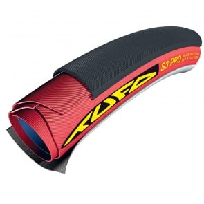 700x21 TUFO S3 PRO TUBULAR BLACK/RED