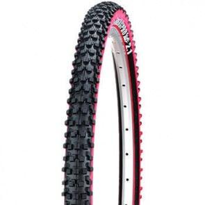 Panaracer Fire XC Pro Tubeless Ready Folding Tyre Tire Red 26x2.1