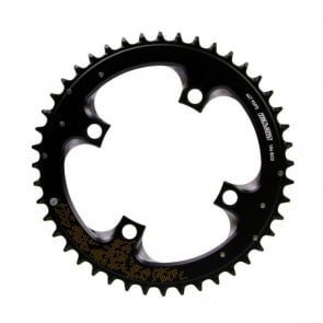Truvativ 44T 104mm Noir Chainring Gold Sram MTB