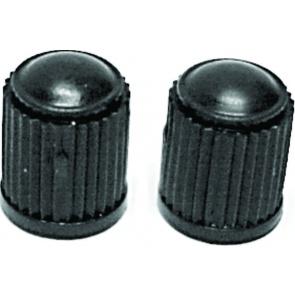 Valve Cap Black Plastic (each)