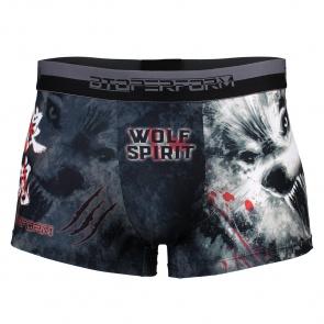 Btoperform Underwear Printed Box Underpants UB-310 WOLF SPIRIT