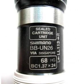 Shimano 68xLL113 Bottom Bracket BB-UN26