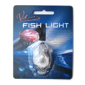 Valiente Fish Light White LED Bicycle Rear Lamp White