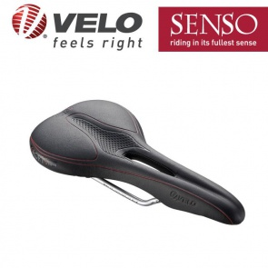 Velo senso bicycle bike saddle seat S1322 black