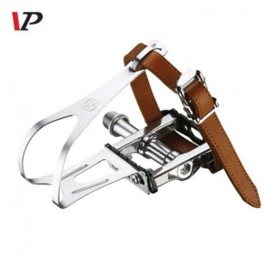 VP Components Strap Pedals VP-337AT Silver