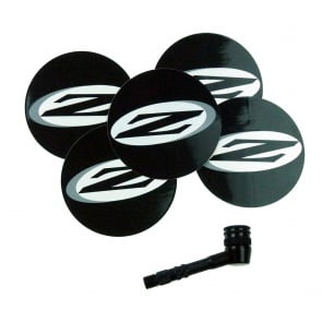 ZIPP DISC VALVE ADAPTER & PATCHES BLK
