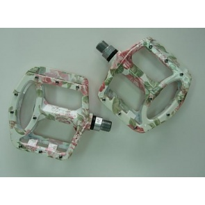 Wellgo BMX DH FR Bike Bicycle Pedals MG1 Flower