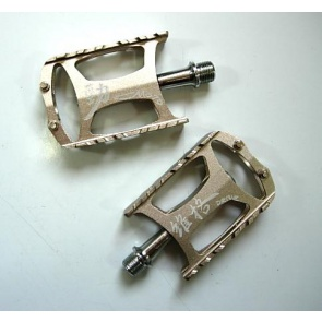Wellgo Mountain Bike M079 Pedals Bicycle Silver