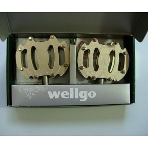 Wellgo Urban Bike Pedals Bicycle Cycling C040 MC