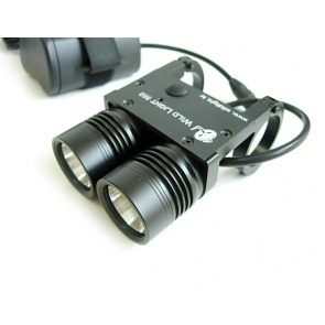 Wildlight 860 Dual LED Torch Light Front 2200Lumen