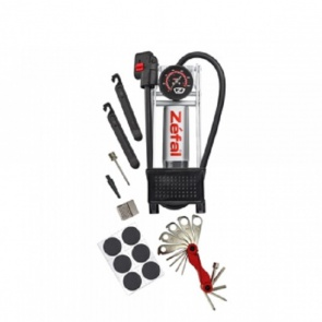 Zefal Repair Station Pump+Toolset+NeedleSet+Patchingset)