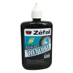 Zefal Bicycle Bike Wet Bio Oil 125ml/4.25 oz Lubricant