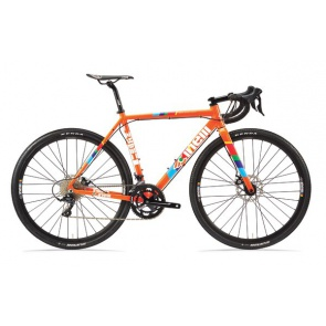 Cinelli Zydeco LaLa Sora Cycling Cross Gravel Bike Orange 2021