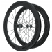 Knight Composites 65W-Dt Swiss 240s Carbon Clincher Wheelset- 700c Black