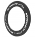 Knight 95 Carbon Rim Clincher Front 700C White
