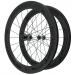 Knight Composites 65W-Dt Swiss 240s Carbon Clincher Front Wheelset- 700c Black