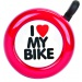 ACTION I LOVE MY BIKE STEEL RED EACH BELL