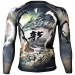 Btoperform Double Dragon Full Graphic Compression Long Sleeve Shirts FX-119