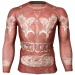 Btoperform Wild Thing - Red Full Graphic Compression Long Sleeve Shirts FX-127R