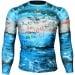 Btoperform Bon Voyage Full Graphic Compression Long Sleeve Shirts FX-140