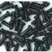 Wheel Smith Alloy Black Nipple 2.0x12mm 50pcs