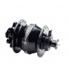 Exposure Lights Revo Dynamo Hub Disc Brake Qr15 Hub Black