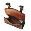 Alphaone SB-005-M Handlebar Leather Bag