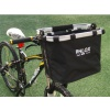 BicycleHero Phlox Foldable Detachable Bike Basket Inc Mount
