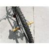 "BicycleHero BMX bike foot pegs 3/8"" Gold"