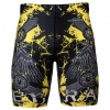 Btoperform Raven Skull Full Graphic Compression Shorts FY-325
