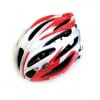 Caspie Super Light Cycling Helmet R-91 Wide Fit White Red