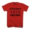 Cinelli T-Shirt Columbus 1919 Red
